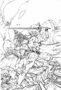 ThunderCats comic art - DC/Wildstorm - Dogs of War Issue #3 - Cover
