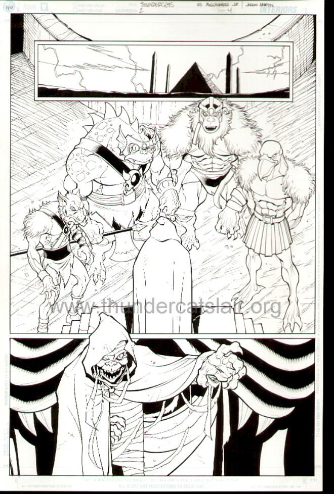 ThunderCats comic art - DC/Wildstorm Issue #2 - Page 4