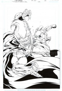 ThunderCats comic art - DC/Wildstorm - Dogs of War Issue #3 - Page 4