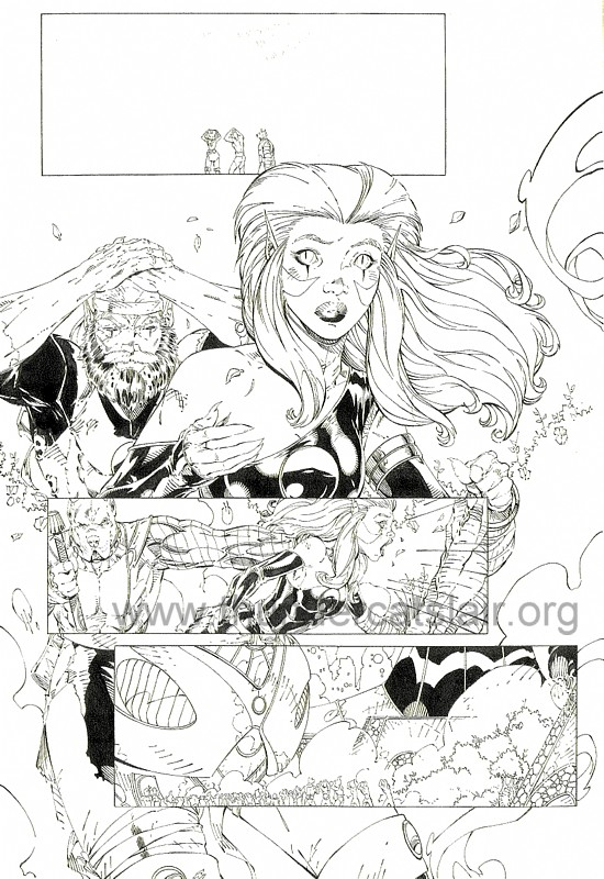 ThunderCats comic art - DC/Wildstorm - Dogs of War Issue #4 - Page 5