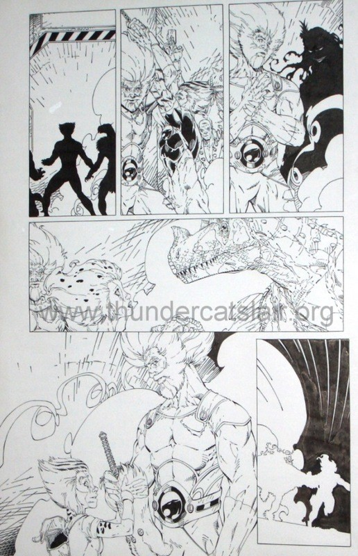 ThunderCats comic art - DC/Wildstorm - Dogs of War Issue #5 - Page 8