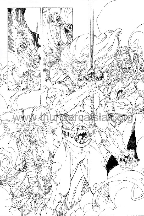 ThunderCats comic art - DC/Wildstorm - Dogs of War Issue #5 - Page 12