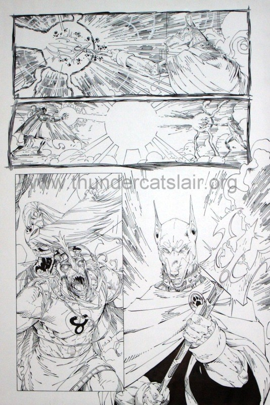 ThunderCats comic art - DC/Wildstorm - Dogs of War Issue #5 - Page 13