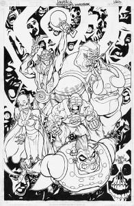 ThunderCats comic art - DC/Wildstorm - ThunderCats Sourcebook - Page 8