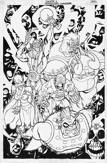 ThunderCats comic art - DC/Wildstorm - ThunderCats Sourcebook - Page 8