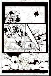 ThunderCats comic art - DC/Wildstorm Issue #2 - Page 11