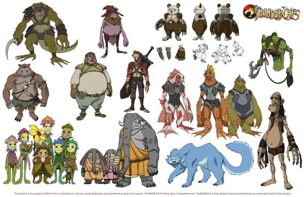 ThunderCats 2011 secondary characters