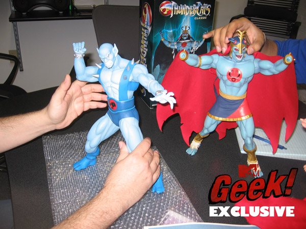 MTV Geek exclusive - Mezco Mumm-Ra and Panthro