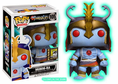 San Diego Comic-Con 2014 Exclusive ThunderCats Pop! Vinyl Figures by Funko - Glow in the Dark Mumm-Ra