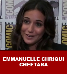 Emmanuelle Chriqui Interview Cheetara