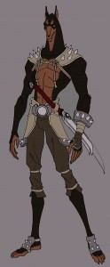 "Dobo. Meet Dobo, He's the Pit Master and legend among the Jackals. You'll see him in the newest episode of ThunderCats ""The Pit"". (Dan Norton Apr 2012)"