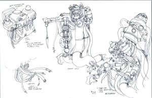 Necromech concepts 4. more of the Necromega. (Dan Norton Jun 2012)