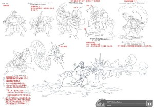 Snipps Action poses. This is how I broke down the action pattern for Snipps from episode 11 on the new ThunderCats show. (Dan Norton Mar 2012)