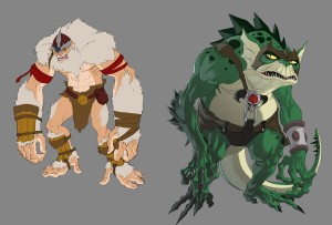 Well, I thought I'd get the hype going for the show. So I'm posting some of the concept art I did for the ThunderCats tv show that will be on soon enough. This is basically what I'd pass over to the incredible Takahiro Tanaka at 4c to put his spin on for final production. (Dan Norton Feb 2012)