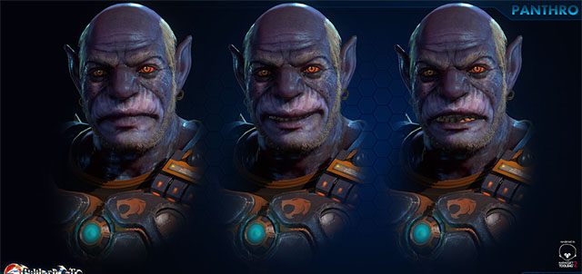 Video game inspired Panthro model, by Rag