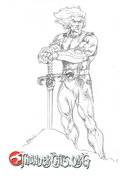 Lion-O_char sketch