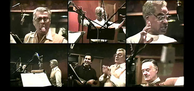 Voice actors at play – ThunderCats recording session