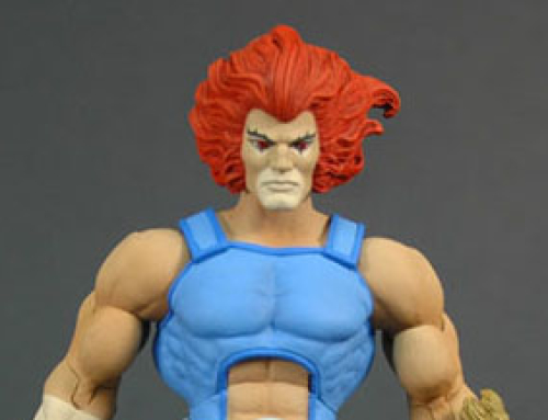 Updated Lion-O prototype for the Mattel Classics line