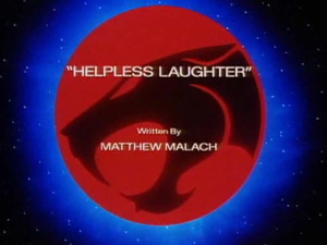 Helpless Laughter Title Card
