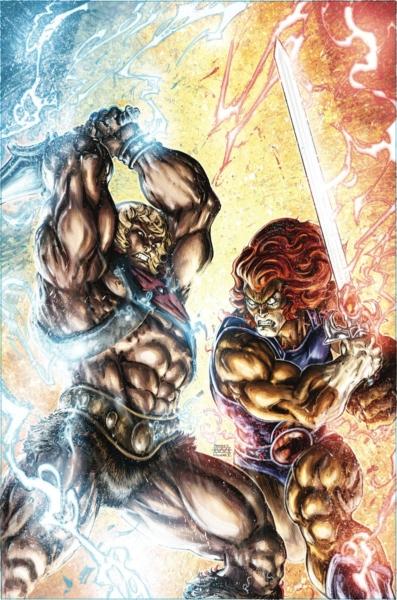 He-Man/ThunderCats #4!