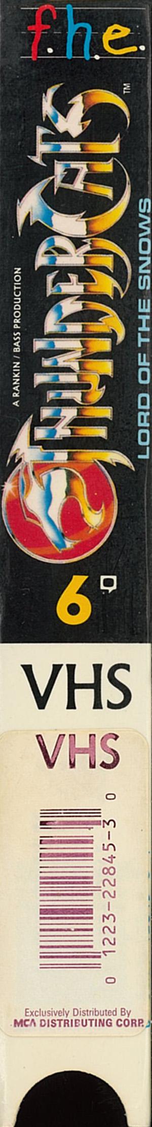 Volume 6 Right Spine