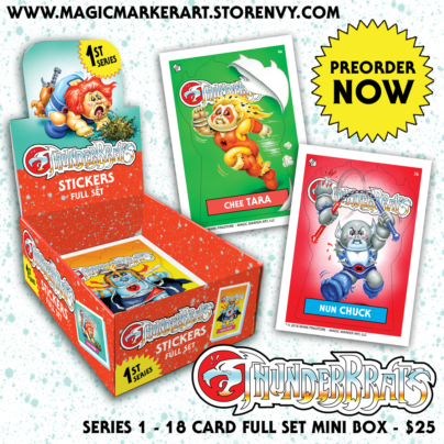 ThunderBrats Series 1 Card Series AVAILABLE NOW for Pre-Order!!