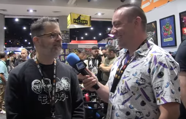 Pixel Dan interviews Brian Flynn at SDCC