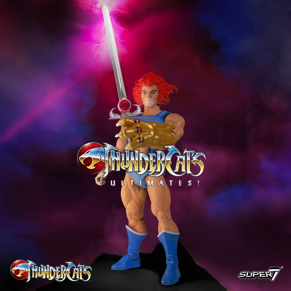 ThunderCats Super7 Ultimates Lion-O