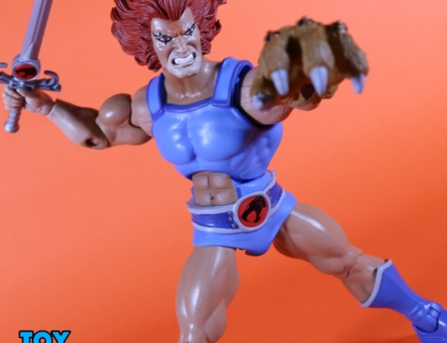 Lion-O Ultimates! First Look with Toy Bro