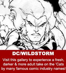 ThunderCats - Original Comic Art Gallery - DC/Wildstorm