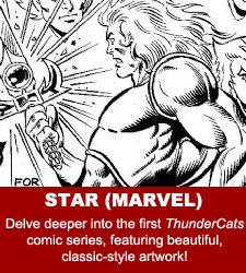 ThunderCats - Original Comic Art Gallery - Star (Marvel)