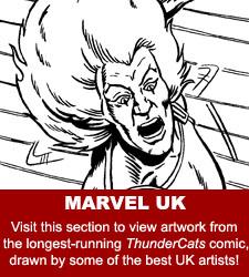 ThunderCats - Original Comic Art Gallery - Marvel UK