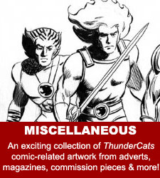 ThunderCats - Original Comic Art Gallery - Miscellaneous