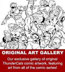 ThunderCats comics - Original Comic Art Gallery
