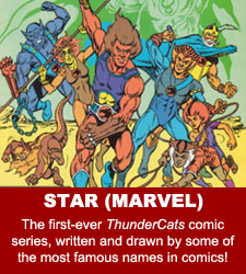ThunderCats comics - Star (Marvel)