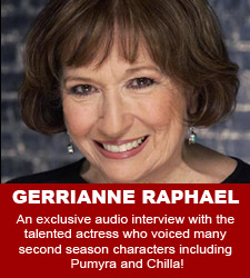 Gerrianne Raphael audio interview