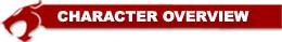 ThunderCats Encyclopedia - Character Overview header