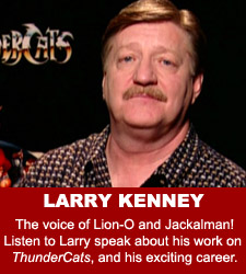 ThunderCats - Larry Kenney audio interview