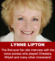 ThunderCats - Lynne Lipton audio interview