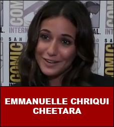 Emmanuelle Chriqui Interview Cheetara