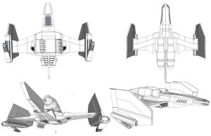 Feliner concepts 1. This is a new take on the Feliner. An airship from the ThunderCats classic that has been made for the new version. I built it in Sketchup. Took about 3 days. I really tried to keep the iconic shapes and feline motif. (Dan Norton Jun 2012)