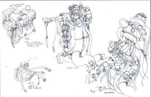Necromech concepts 4. more of the Necromega. (Dan Norton Jun 2012)