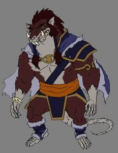Ratilla. Lord of the Rat men! (Dan Norton May 2012)