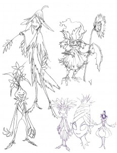 The Petlars concepts. Here are a few of the ideas I threw down for the look of the petlars. The older looking version stuck, the others were a bit to complicated. (Dan Norton Apr 2012)