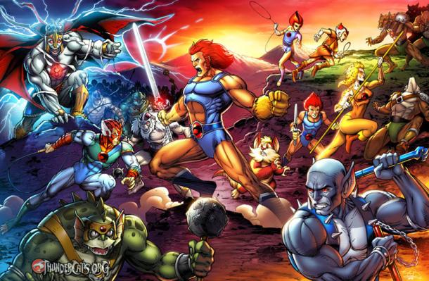 ThunderCats battle Eric Ninaltowksi ThunderCats.org