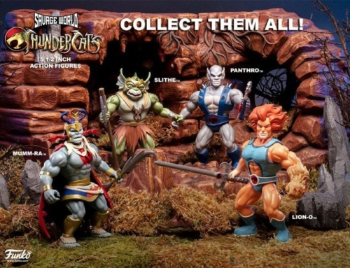 Funko's Savage World ThunderCats up for Pre-Order!