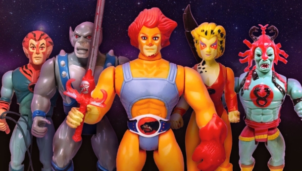 LJN ThunderCats action figures.