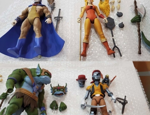 Wave 3 and Reaction Figures revealed at Toy Fair